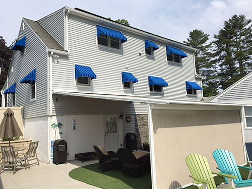 What types of awnings can you install?